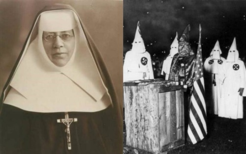 When St. Katharine Drexel Defeated the KKK