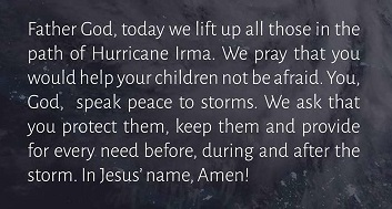 2017_09 07 Irma prayer