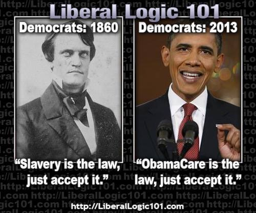 Obamacare Liberal Logic - It's the law