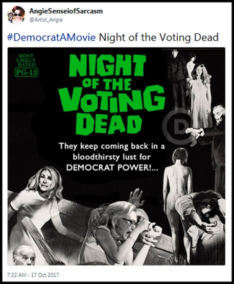 2017_10 17 Night of voting dead tweet