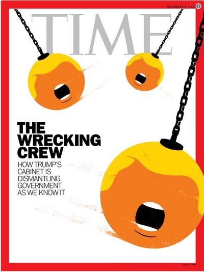 2017_10 Time Wrecking Ball cover