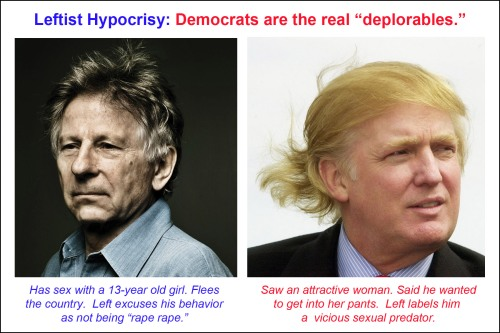 Leftist Hypocrisy Democrat deplorables