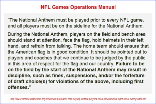 NFL Games Operations Manual