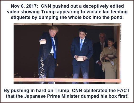 2017_11 06 Trump feeds koi