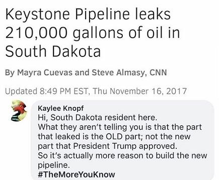 2017_11 16 Keystone leak