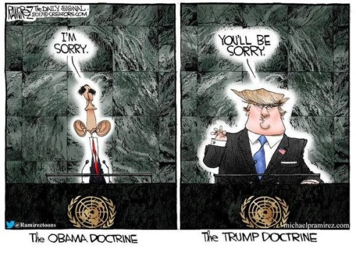 2017_09 Obama vs Trump doctrines
