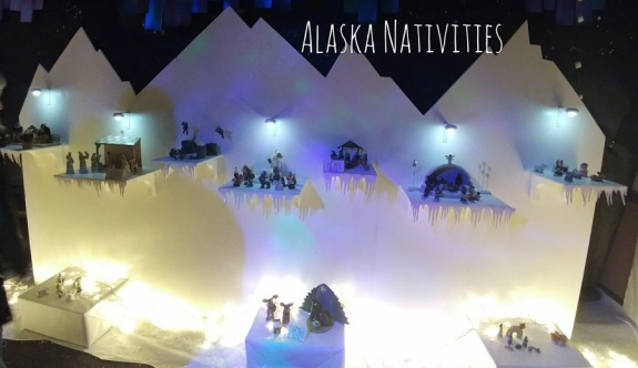 2017_12 03 Nativity display - Alaska themed