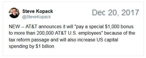 2017_12 20 AT&T announces tweet