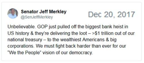 2017_12 20 Jeff Merkley tax tweet