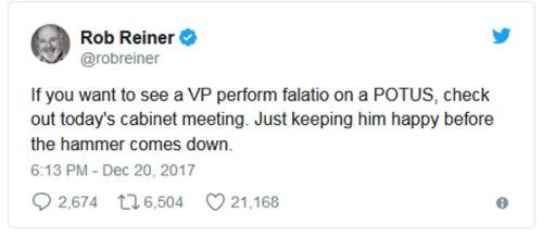 2017_12 20 Rob Reiner's tweet