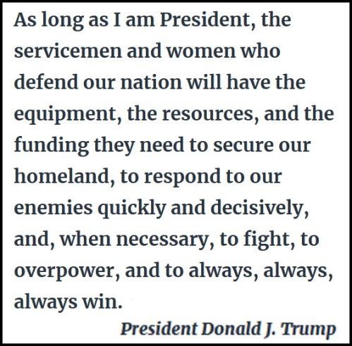 2017_12 Trump on military