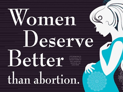 Women deserve better than abortion