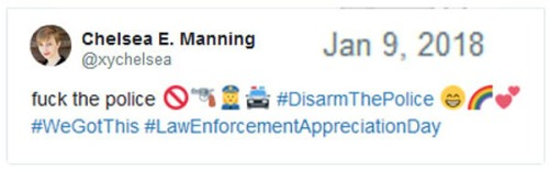 2018_01 09 Chelsea Manning LEO tweet