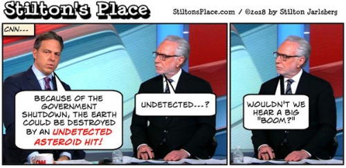 2018_01 22 Stilton toon - CNN asteroid