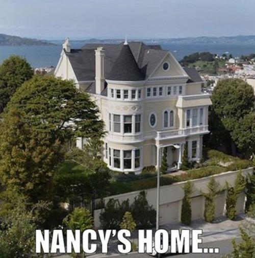 Nancy Pelosi's home