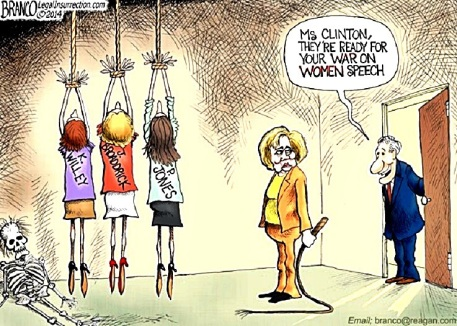 2014 Hillary's War on Women by Branco