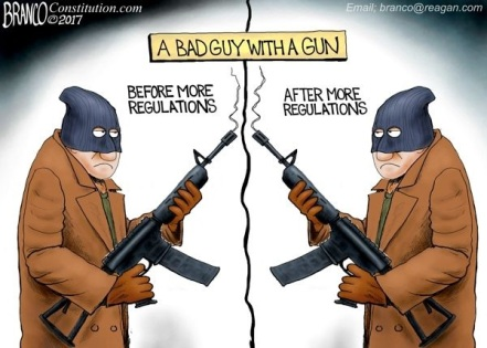 2017 A Bad Guy with a Gun by Branco