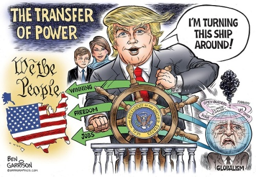 2018 Trump turning ship of state around by Garrison