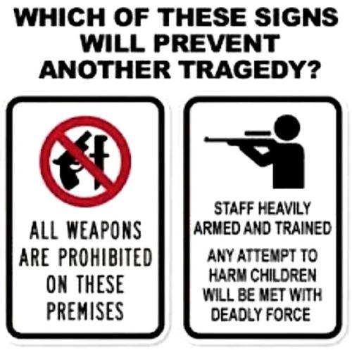 2018_02 Gun control two signs