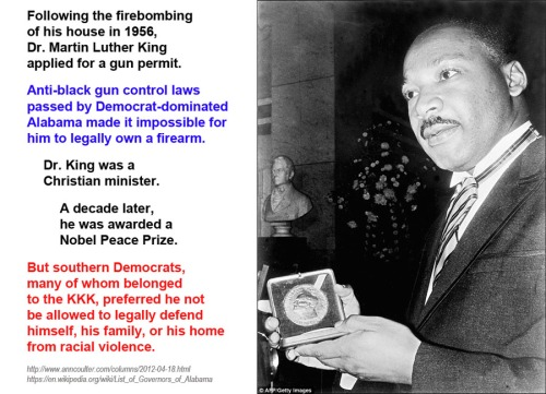 GUN CONTROL and MLK