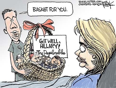2016 Hillary basket of deplorables