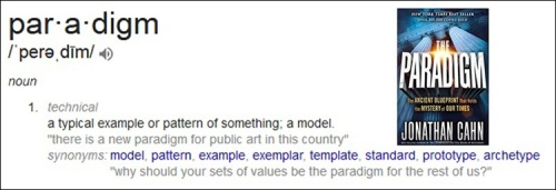 2018_03 15 Paradigm definition