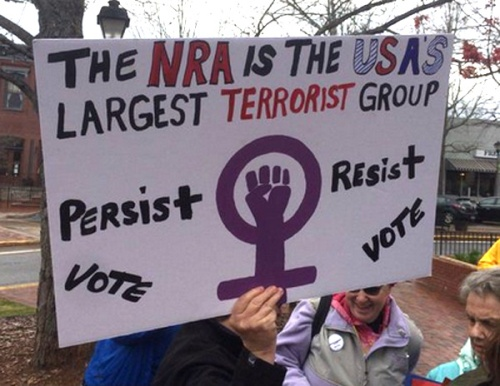 2018_03 24 NRA terror sign