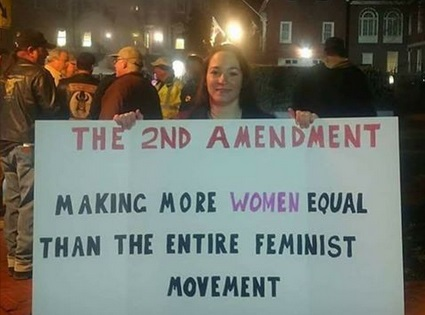 2d Amendment - making women equal