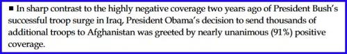 2009 News coverage of Obama Iraq