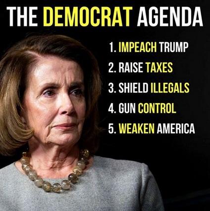 2018 Democrat Agenda