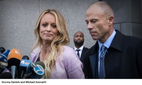 2018 Stormy Daniels and Michael Avenatti