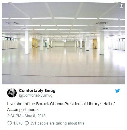 2018_05 08 Obama Library tweet