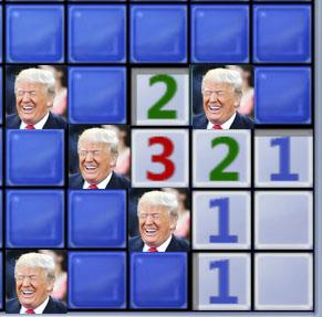 2018_05 Trump Minesweeper