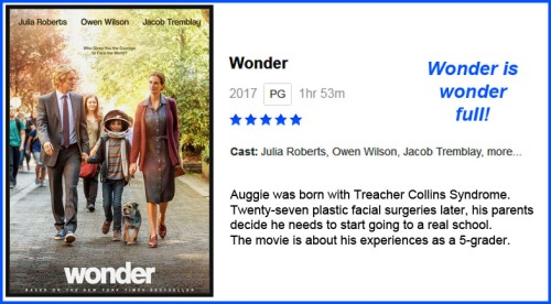 MOVIE Wonder