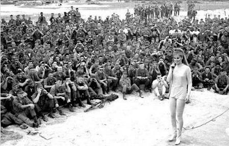 1960ish Ann Margret in Vietnam