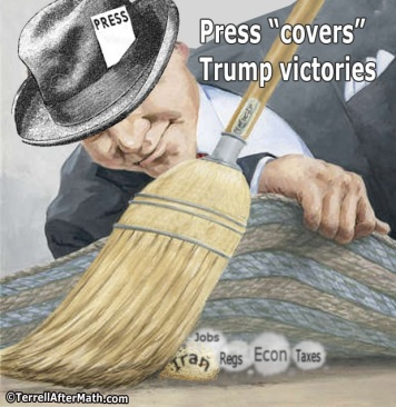2018_06 04 Press covers Trump by Terrell
