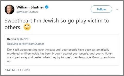 2018_07 03 Shatner tweet
