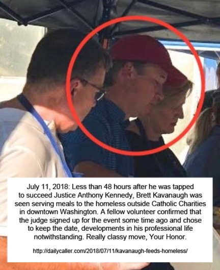 2018_07 11 Kavanaugh feeding homeless