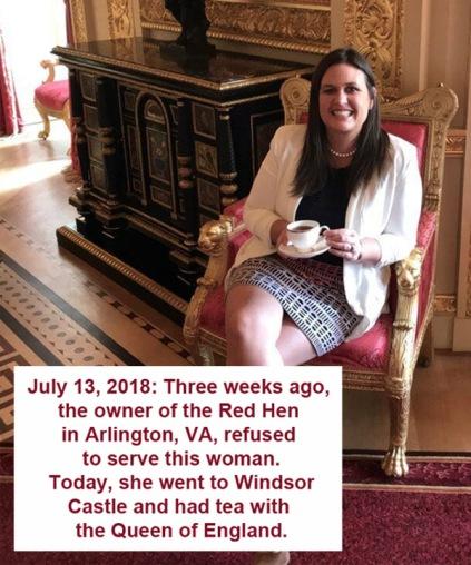 2018_07 13 Sanders tea with queen