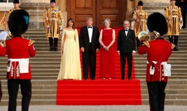 2018_07 Trumps w UK PM and her husband