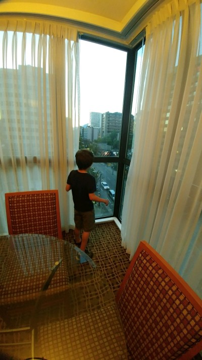 2018_08 07 Hotel W at window