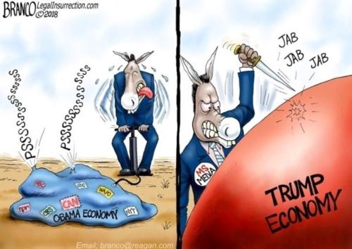 2018_08 30 Obama v Trump Economy Branco