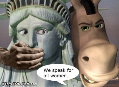 2018_10 09 Speak for women by Terrell