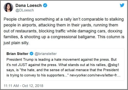 2018_10 12 Stelter Loesch tweets