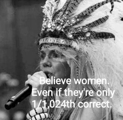 2018_10 16 Believe Fauxcahontas