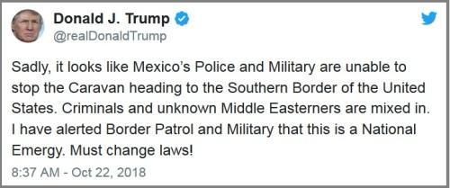 2018_10 22 Trump