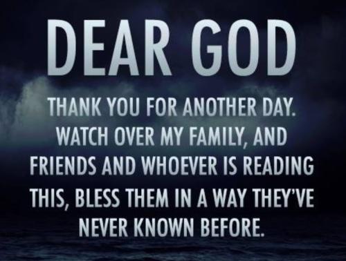 2018_10 23 Dear God