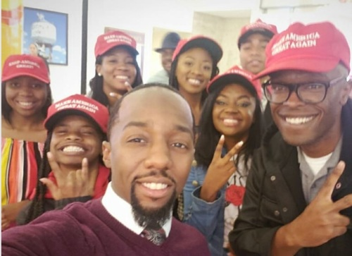 2018_10 27 Young blacks MAGA