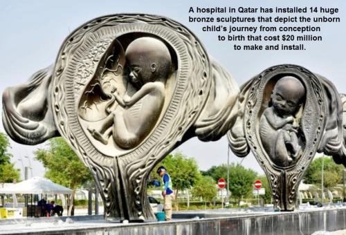 2018_11 20 Qatar prolife sculptures