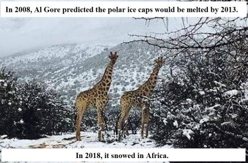 2018 Blizzard in Africa